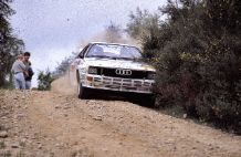 AUDI A2 QUATTRO Group B Mikkola Scottish Rally 84